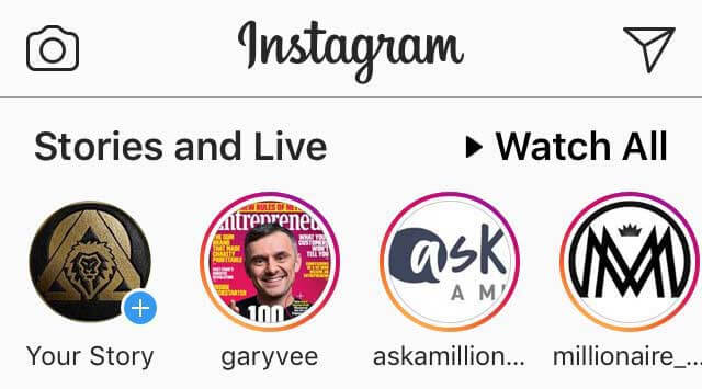 Instagram Top Stories & Live
