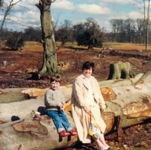 Mum and Chris