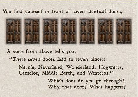 which door would you choose