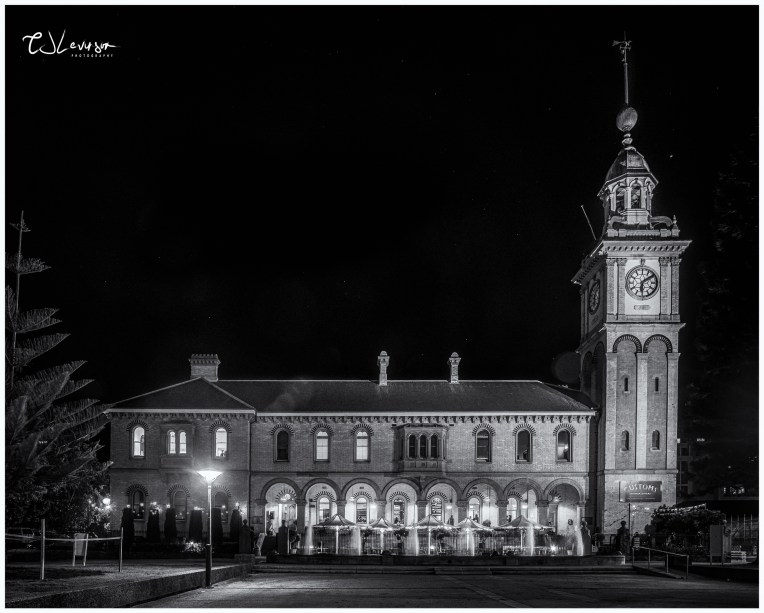 Customs House Hotel black and white
