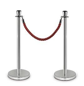 Poteau de guidage à corde