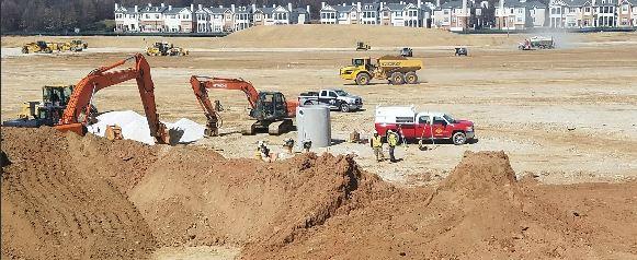 Photo of a CJ Miller job site