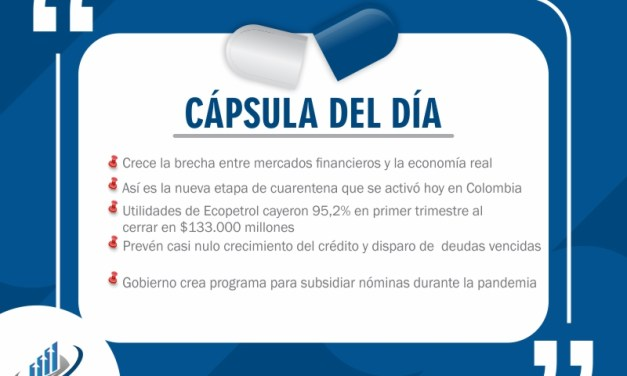 Capsulas noticiosas 14-05-2020