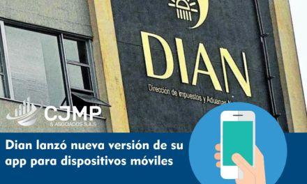 Dian lanzó nueva versión de su app para dispositivos móviles