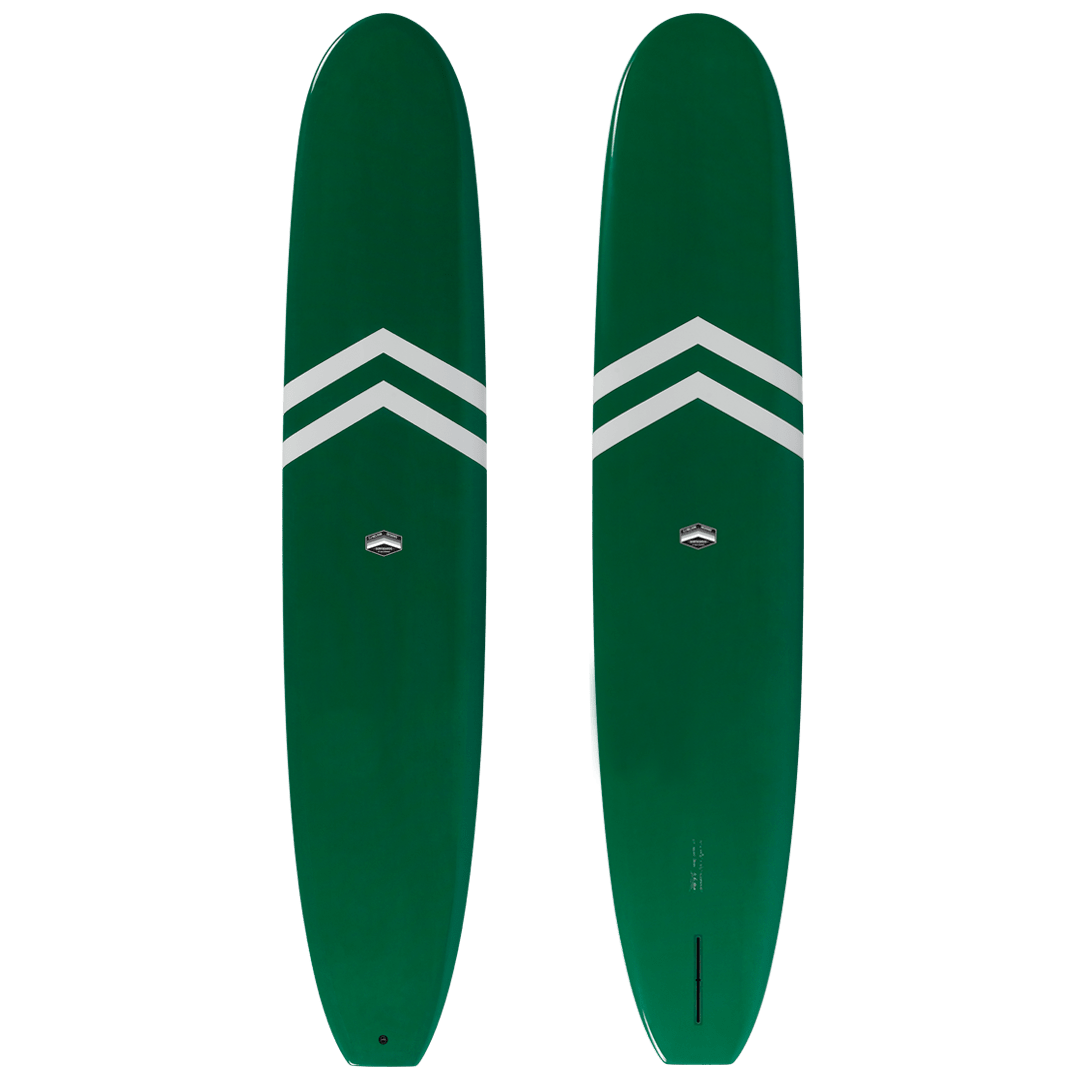 Green with White Chevrons
