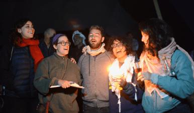 Havdalah at Sumud: Freedom Camp