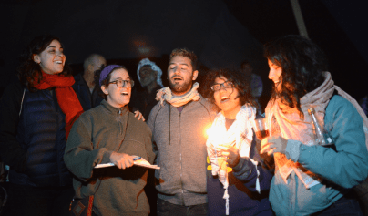 Havdalah at Sumud: Freedom Camp