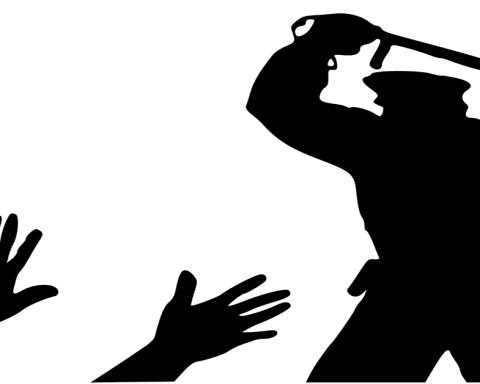 Police brutality against teaching candidates