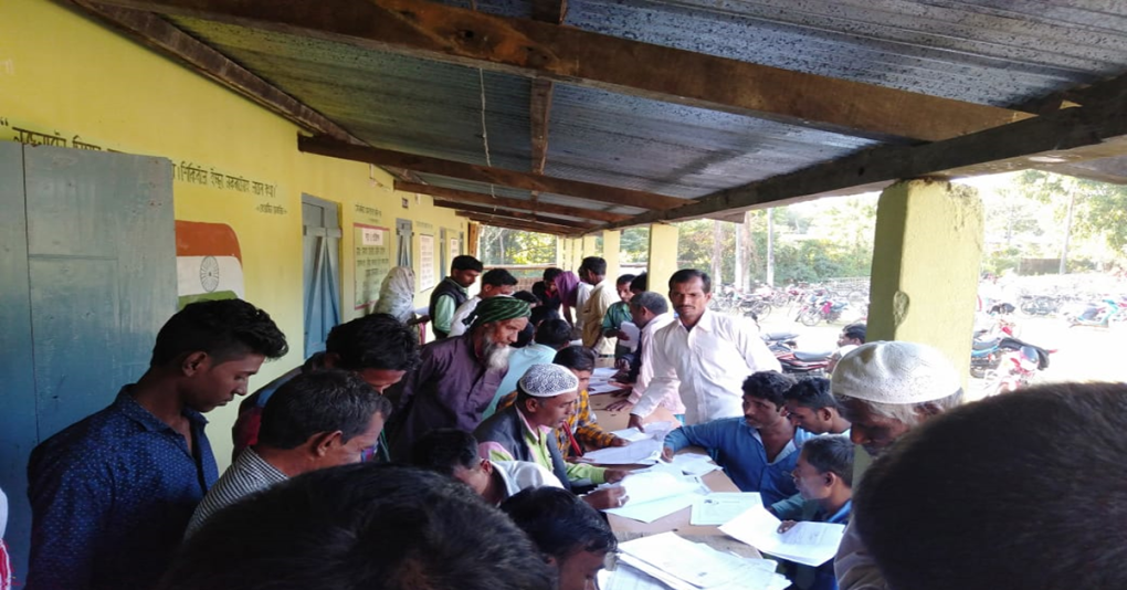 10,000 applications of NRC claims in just 40 hours in Assam
