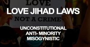 Love Jihad Laws Youth