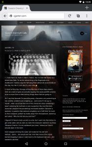Wordpress Mobile-tablet