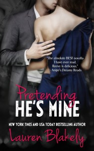Pretending He's Mine by Lauren Blakely new cover Feb 20 reveal