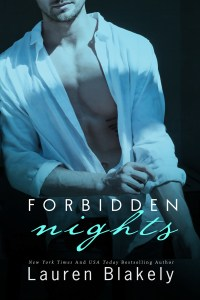 FORBIDDEN NIGHTS by Lauren Blakely for cover reveal