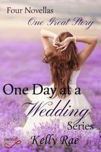 Bride in wedding day in lavender field