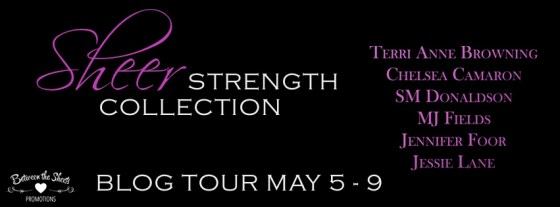 SHEER STRENGTH blog tour BANNER