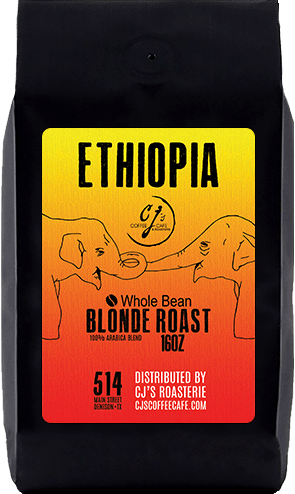 CJs Coffee Cafe - Ethiopia Beans