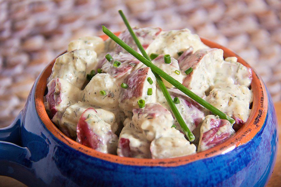 organic, organic potato salad, potato salad, making potato salad, potato salad, gluten free potato salad, cjs premium spices, delicious potato salad, delicious, clean label, easy to prepare