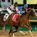 Sally's Curlin Triumphs in Chilukki Stakes at Churchill