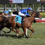 Bienville Street Wins Sunshine Filly & Mare Turf