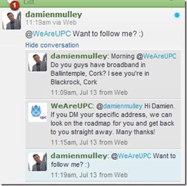 Twitter Tip: Follow before asking for DM