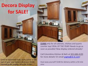 Decora Display Sale
