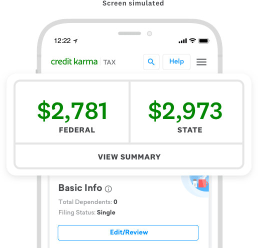 You put down a refundable deposit — which becomes your spending limit — on a secured card and use it just like a credit card, repa. Free Tax Filing Online 0 State Federal Credit Karma Tax