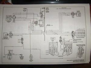 wiring diagram for AC environmental control 1986 K20 | K5