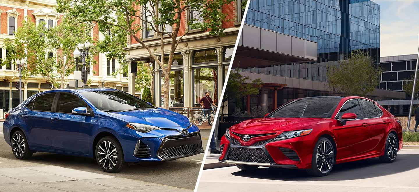 all new camry type v kelemahan grand avanza 2018 toyota vs corolla of rock hill compare the 2019 and at in