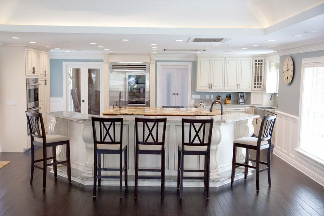complete kitchen moen faucet hands free cabinets lakeland fl and bath florida design