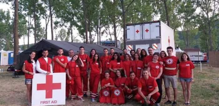 Crvenkrstaši pokazali stručnost u pružanju pomoći na Sea Dance festivalu