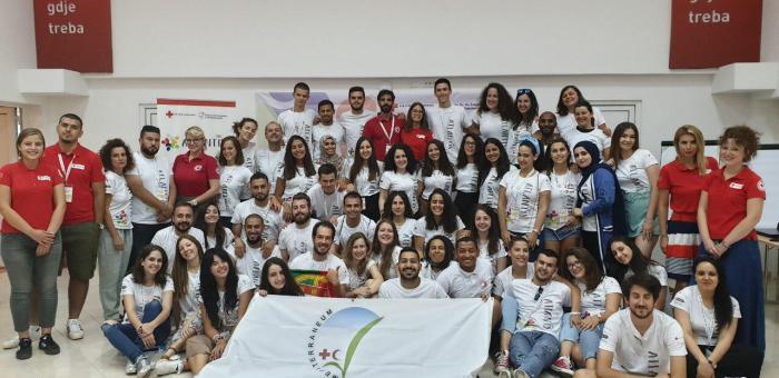 """Volonteri Crvenog krsta Cetinje učestvovali na 15. Mediteranskom kampu za mlade  """"Atlantis"""""""