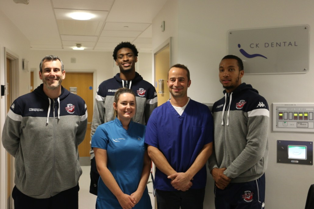 CK Dental and the team