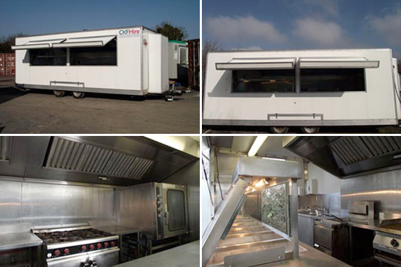 mobile kitchens kitchen chair cushion ckf hire container and fridge ltd catering units