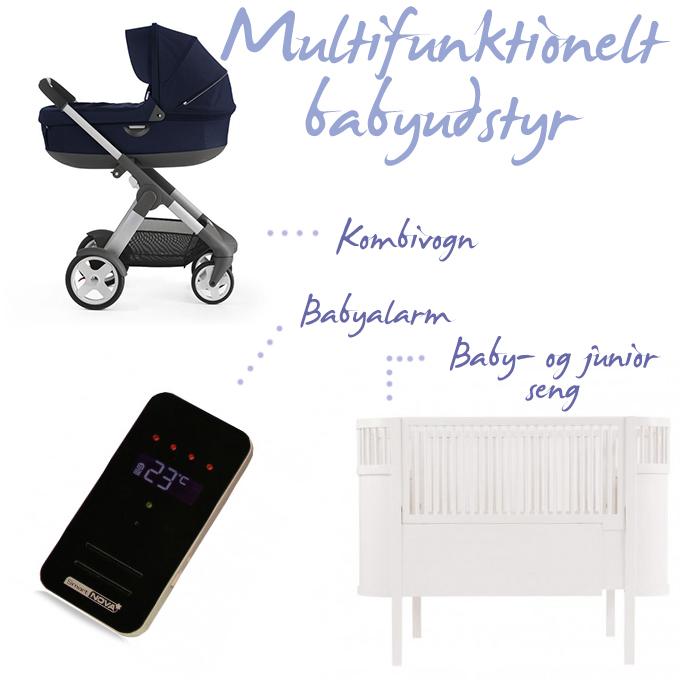 babyudstyr kombivogn babyseng babyalarm