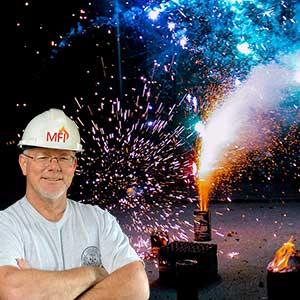 Fireworks Accident Expert, Richard Meier