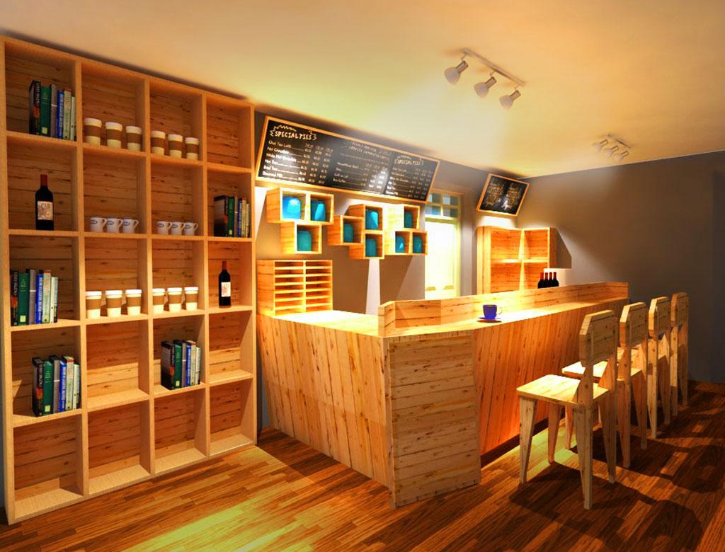 Coffee Bar  DESAIN INTERIOR