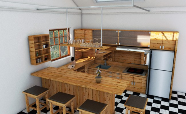 Kitchen Set Jati Belanda Ckm Interior