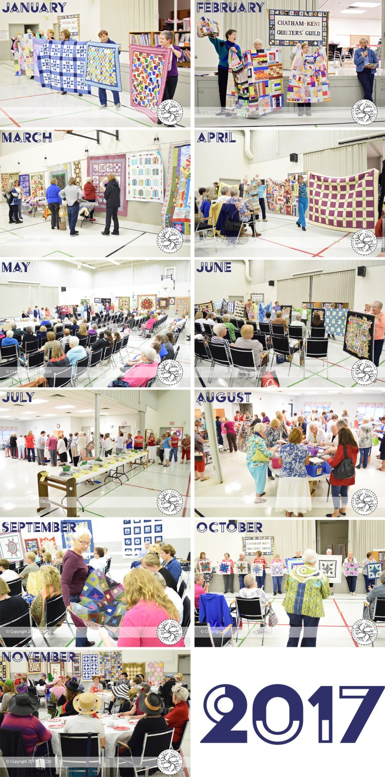 Chatham Kent Quilters Guild 2017 in photos