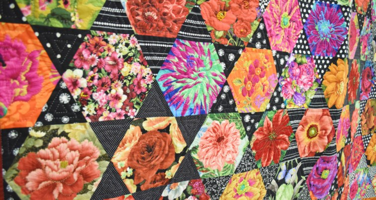Stitches In Bloom Quilt SHow