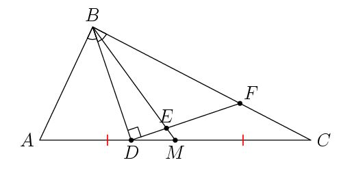 Solving a tricky geometry problem using cross ratios