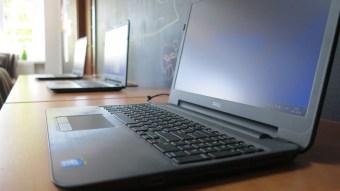 nowe laptopy w bibliotece