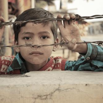 little boy fear of poverty