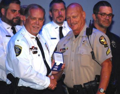 Jack Redlinger awarded for bravery and courage