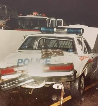 Jack Redlinger Atlanta Police crashed car