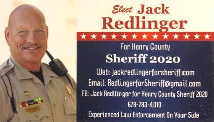 Jack Redlinger for Sheriff
