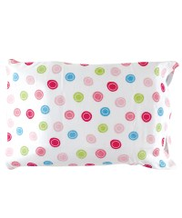 """Luvable Friends """"On Target"""" Toddler Pillow Case"""