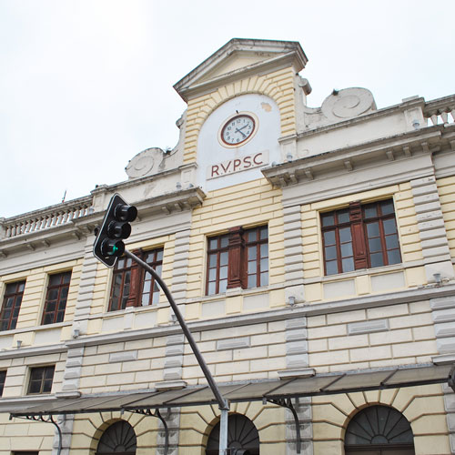 Visita ao Museu Ferroviário de Curitiba no Shopping Estação