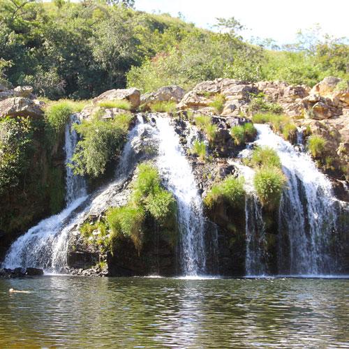 Cachoeira do Filó em Capitólio