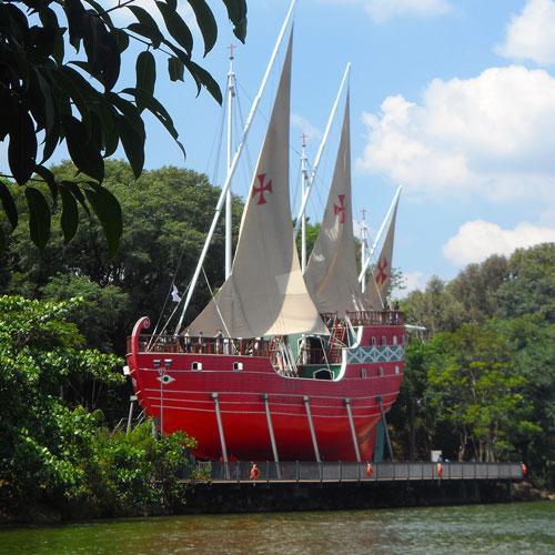Parque Taquaral em Campinas