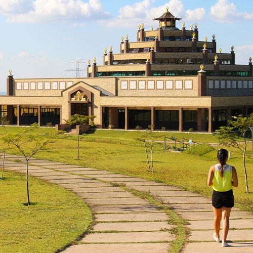 Visita ao Centro de Meditação Kadampa Brasil em Cabreúva